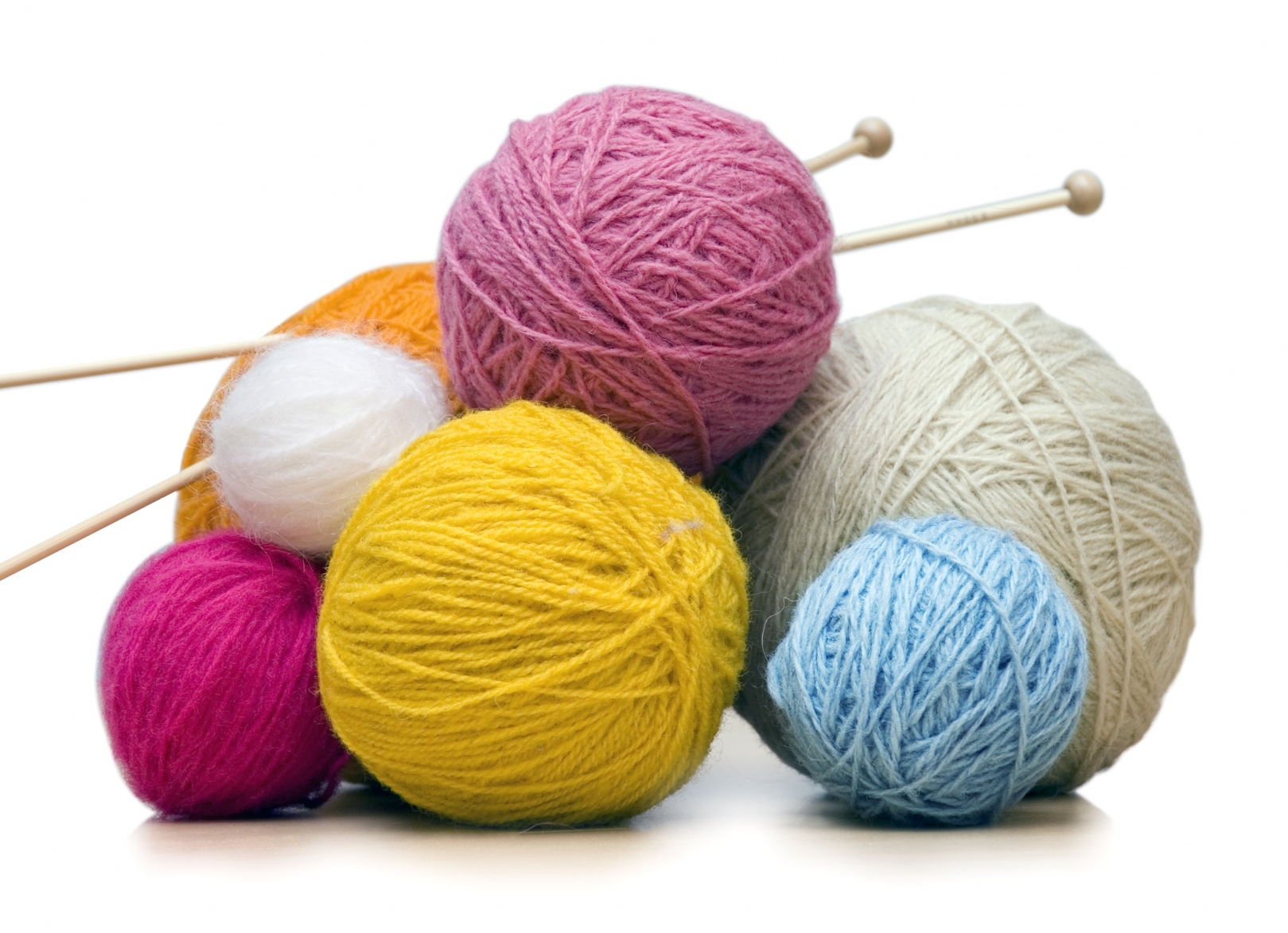 Нитки для вязания с бисером